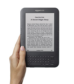 Amazon sin e-bokleser Kindle.