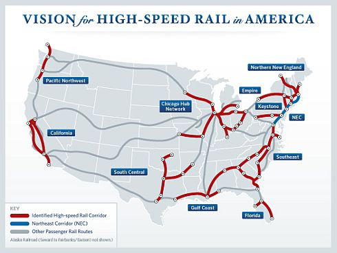 VISION for HIGH_SPEED RAIL in AMERICA