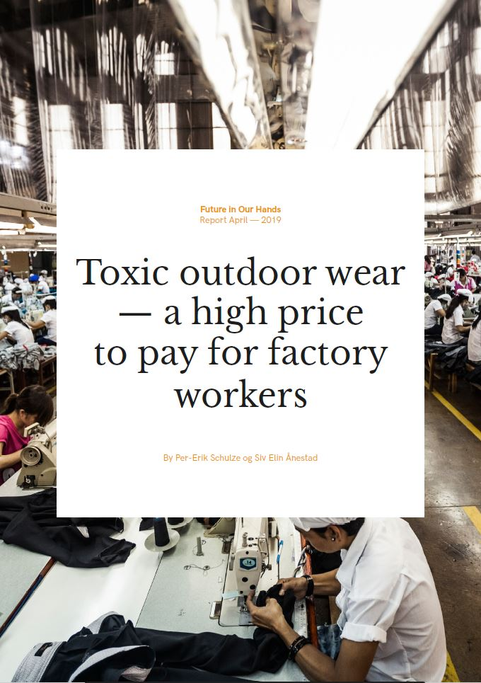 Toxic outdoor wear — a high price to pay for factory workers