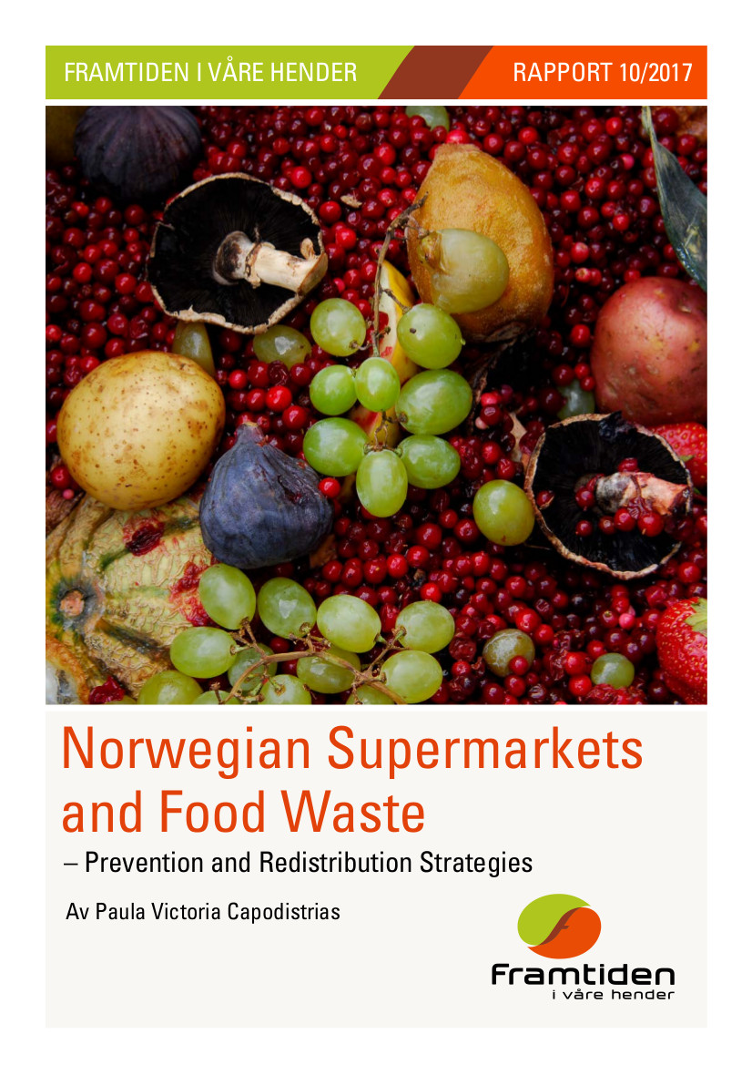Norwegian Supermarkets and Food Waste: Prevention and Redistribution Strategies